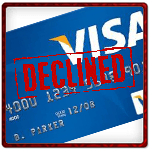 Visa declined