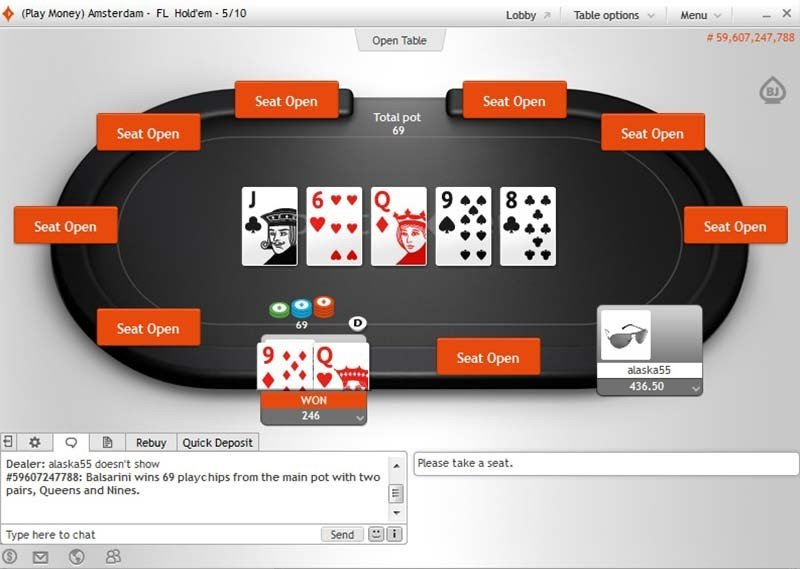 party poker online support